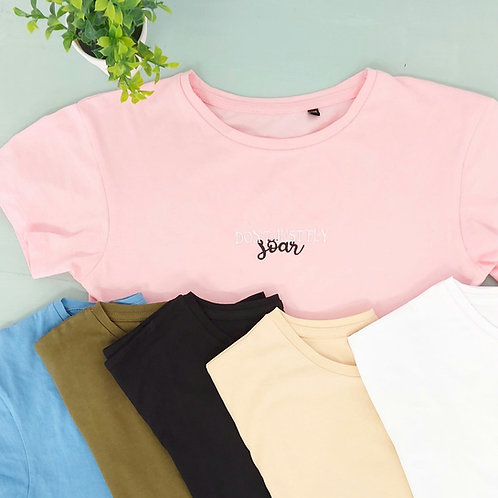 Elite Inspiration Or Park Cropped Tee