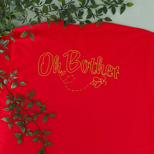Oh Bother Jersey Style Tee