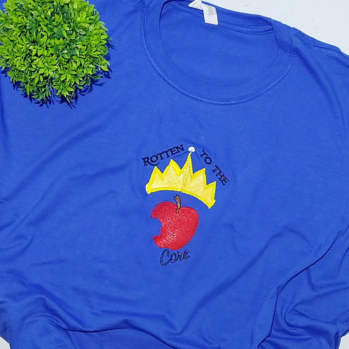 Not Perfect - Rotten To The Core  3XL Size Royal Blue T.shirt