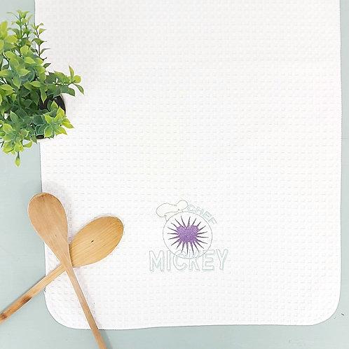 Chef Mickey Tea Towel
