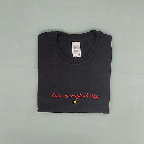 Sample Sale - Magical Day Black M Tee