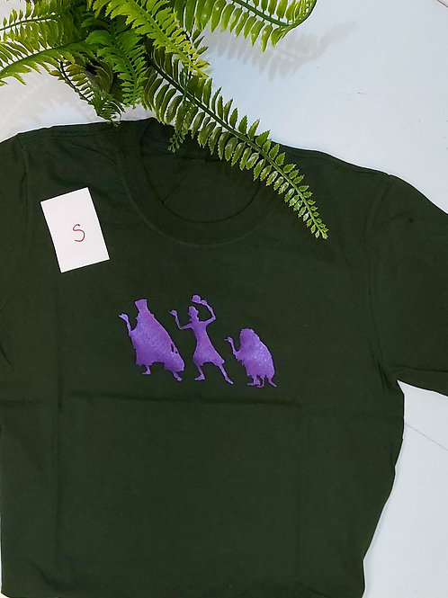 Sample sale - Hitchhikers, Forest Green T.shirt S size