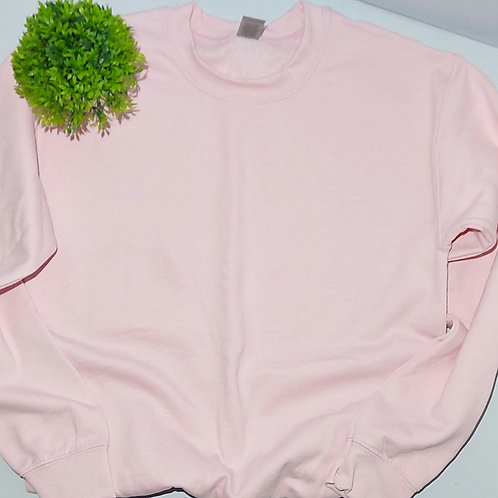 Not Perfect - Any Design Small Size Light Pink Jumper