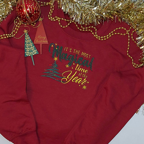 Christmas - Most Magical Time Of The Year Jumper