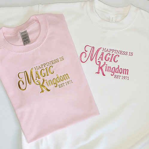 Parks - Happiness Is Magic Tee