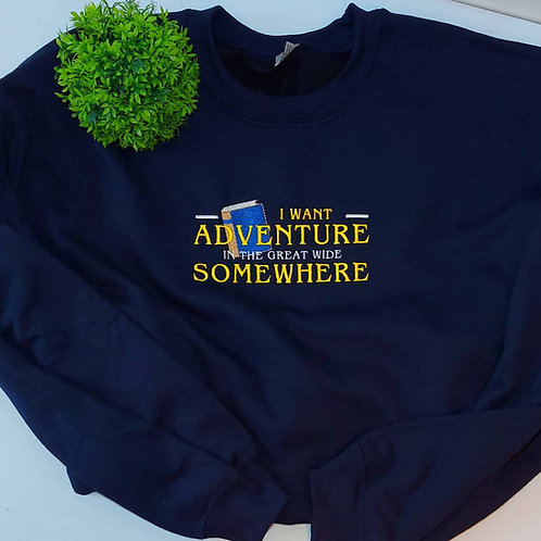 Belle I Want Adventure Jumper