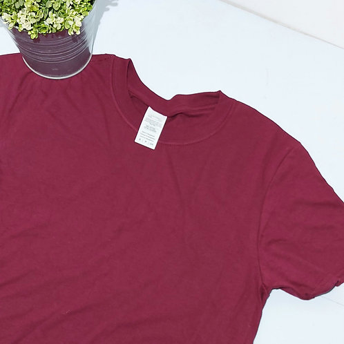Not Perfect - Any Design Small Size Maroon T.shirt