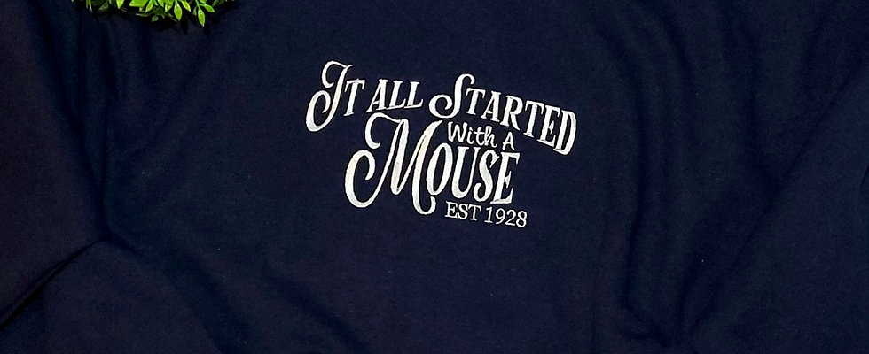 It All Started With A Mouse Jumper