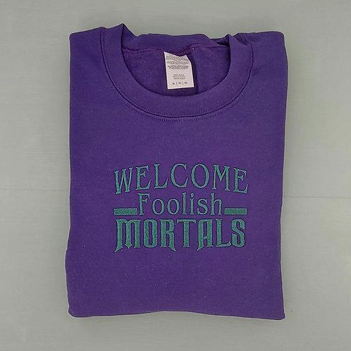 Sample Sale - Foolish Mortals Purple XL Jumper