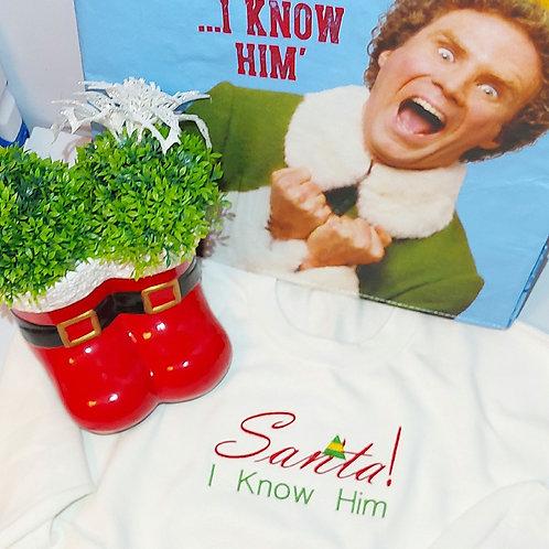 Christmas - Santa I Know Him Jumper