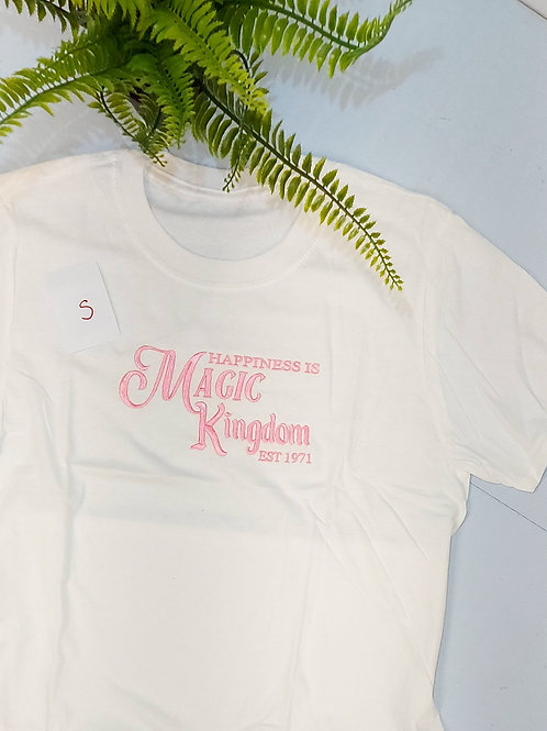 Sample sale - Magic Kingdom, White T.shirt S size