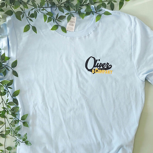 Not Perfect - Oliver Light Blue M Tee