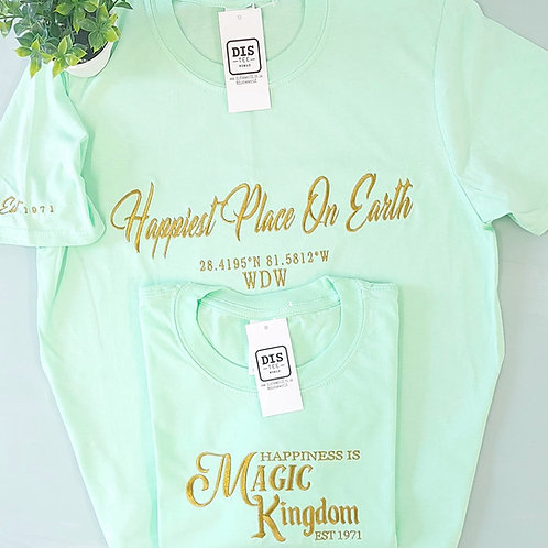 Parks - WDW Happiest Place On Earth Tee