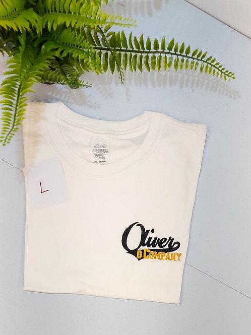 Sample sale - Oliver & Co, White T.shirt L size