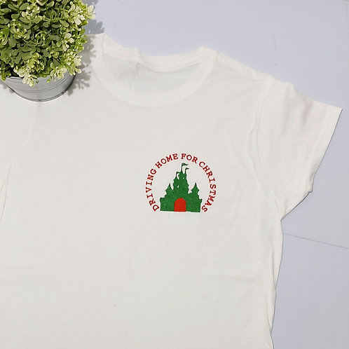 Womens Small Fitted -  White T.shirt