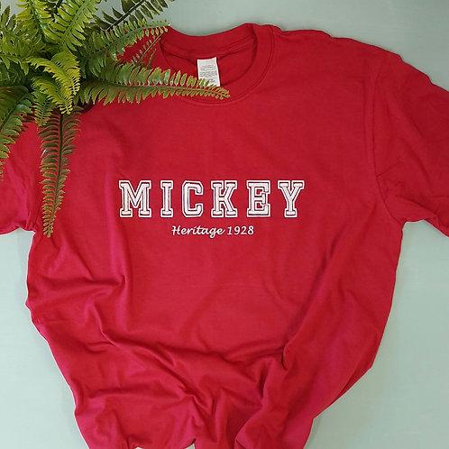 Mickey or Minnie Tee