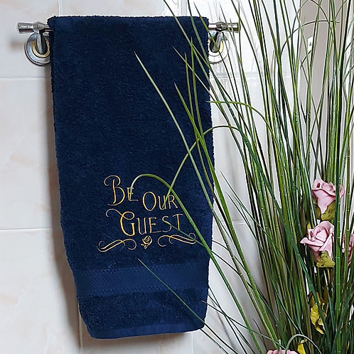 Be Our Guest Hand Towel
