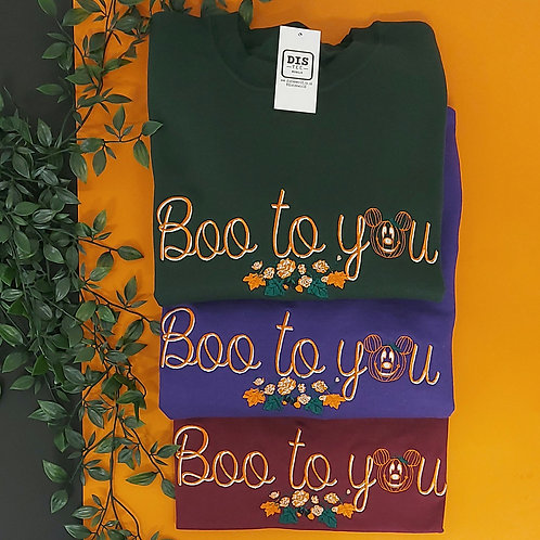 Boo To You Jumper *Can't Guarantee Halloween Delivery*