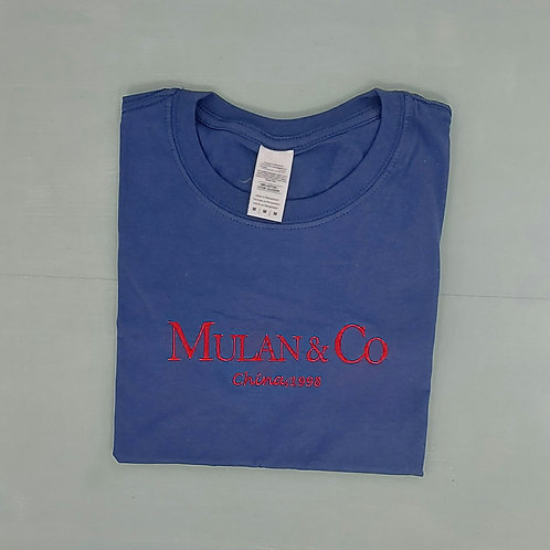 Sample Sale - Mulan Cobalt Blue M Tee