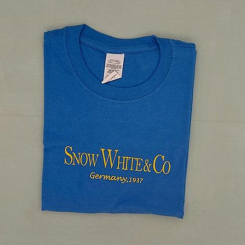 Sample Sale -Snow White Royal Blue M Tee