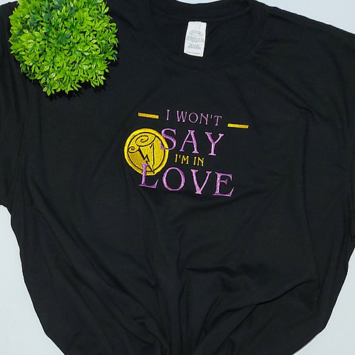Meg Won't Say I'm In Love Tee