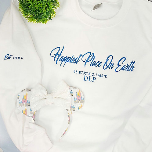 Parks - DLP Happiest Place On Earth Tee