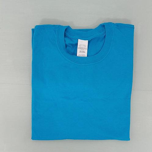 Blank - Bright Blue M or 2XL Tee