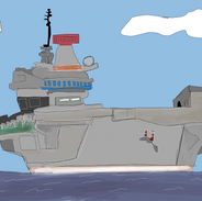 Air Craft Carrier Frontal