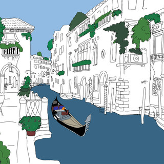 Canal5 InkAndGreen Sketch
