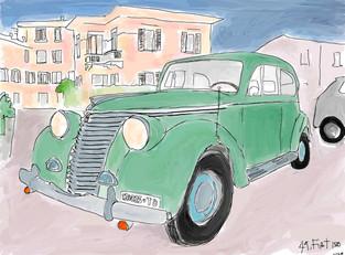 Fiat 1500 Green Wash