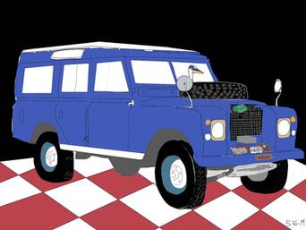 AP2 Blue Rover