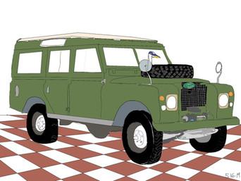 Green Brown Check Rover