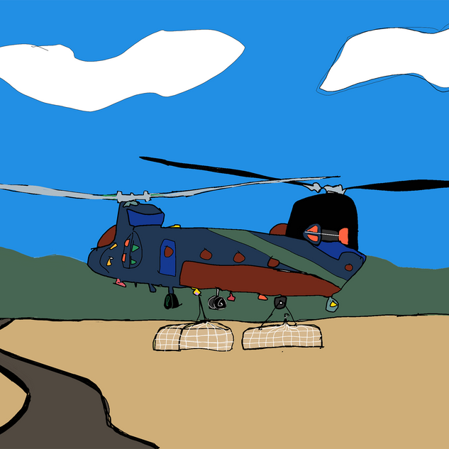 Supply Copter