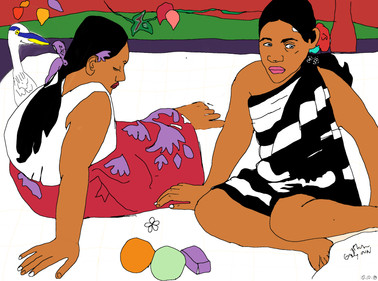 Quirky and the Polynesian women.jpg