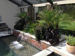 Pool planter