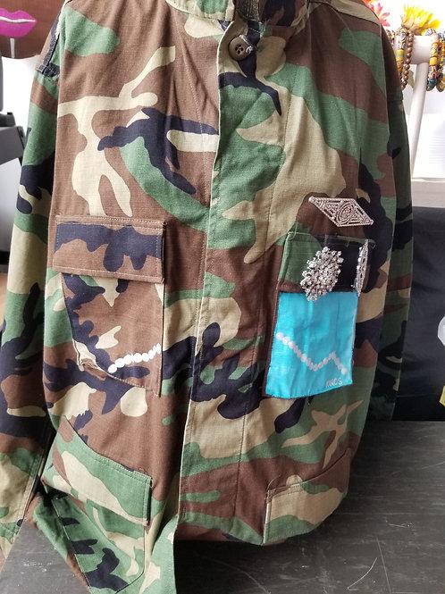 Madam camouflage jacket