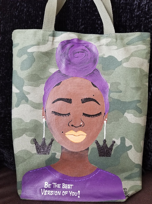 Best Version of YOU tote bag.
