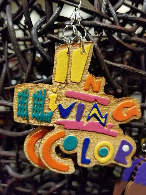 In Living Color Earrings