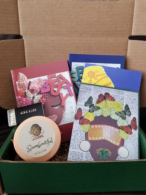 Cards and candle bundle!!!