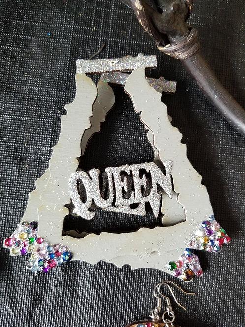 Queen Bamboo earrings!!