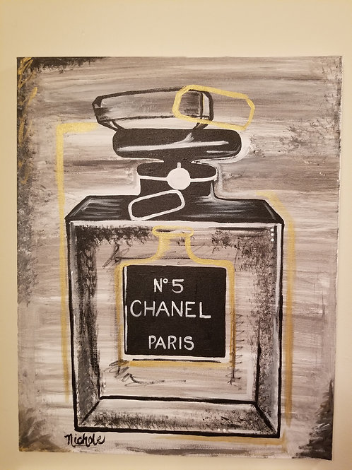 Chanel inspired!!