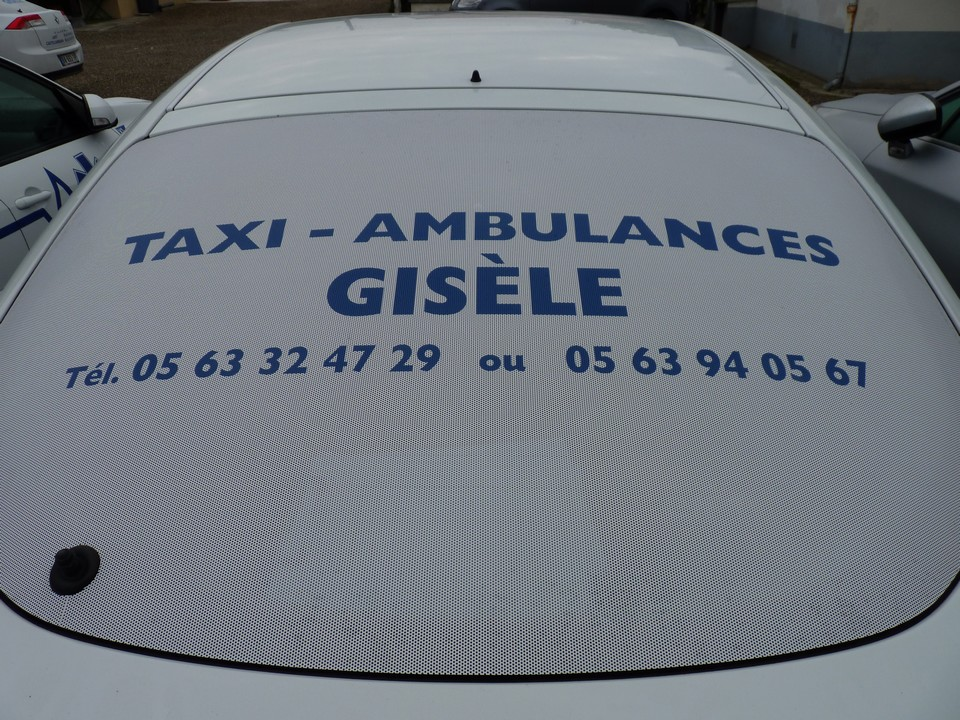 Taxis ambulances Gisèle
