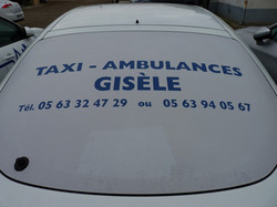 Taxis ambulances Gisèle