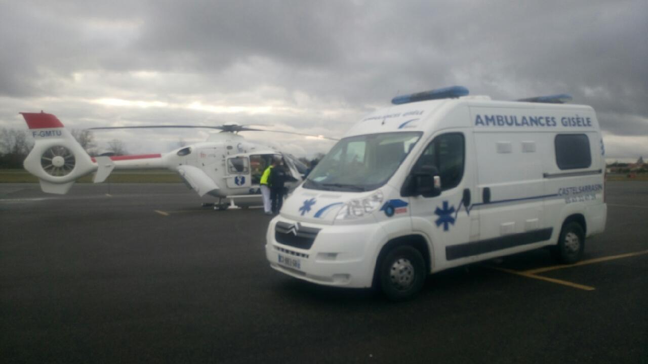 Taxi ambulances Beaumont de Lomagne