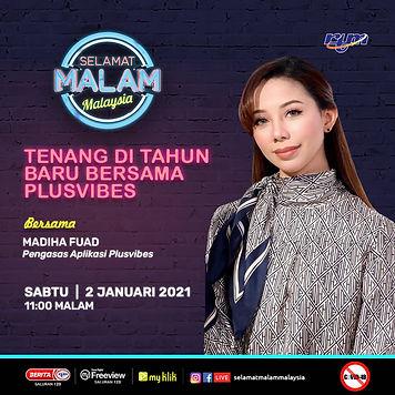 Selamat Malam Malaysia Madiha Maddy