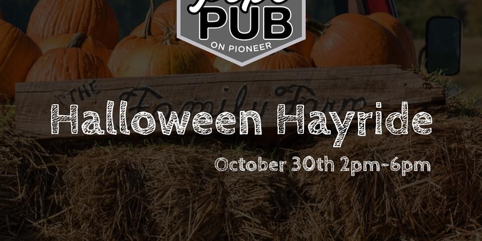 Pop's Pub Halloween Hayride