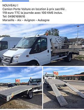 Location Camion Porte Voiture Camion Benne Camion Plateau