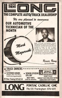Mark Mazuroski - Tech of the Month