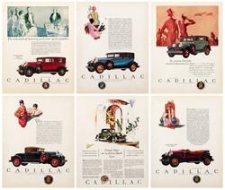 Cadillac ads c. 1927