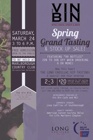 Spring Grand Tasting